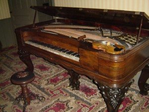 Black Creek's 19th century piano performed on by James Levac